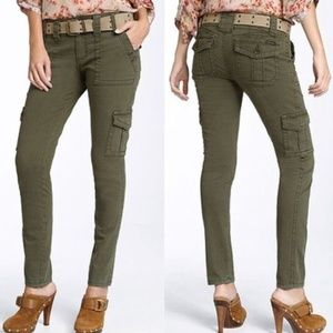 Anthropologie Sanctuary Cargo pants in Olive sz 26